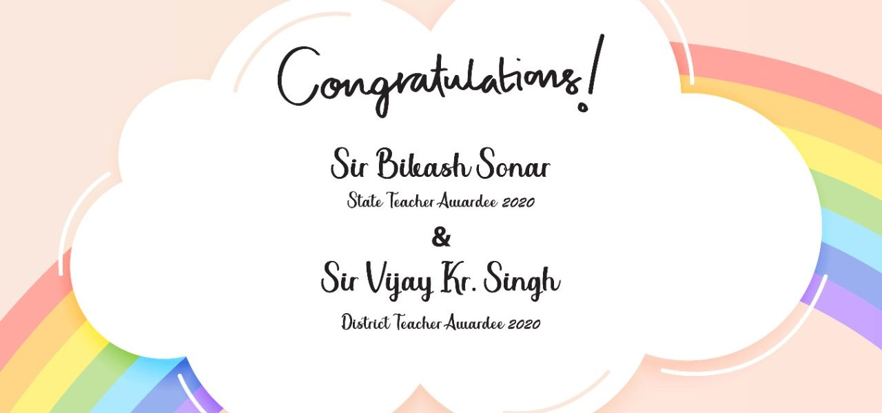 Congratulations to Sir Bikash and Sir Vijay